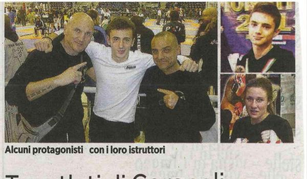 Tre atleti di Cerasoli sono vice-campioni d'Italia