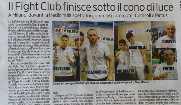 Campionati italiani 2014 il secolo XIX