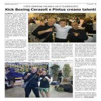 Kick Boxing Cerasoli e Pintus creano talenti
