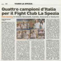 Campionati italiani Milano 4-5-6 Aprile 2014