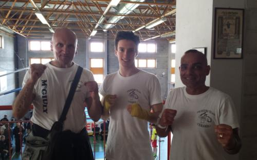 Alessandro Mori titolo italiano -63 Kg Fight Code Tecnica