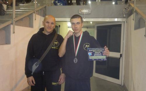 Jesolo 2013 Giorgio Macchio vice campione italiano -63 Kg