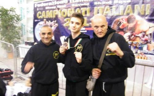 Jesolo campionati italiani Aprile 2013 Venturini Omar 3°classificato