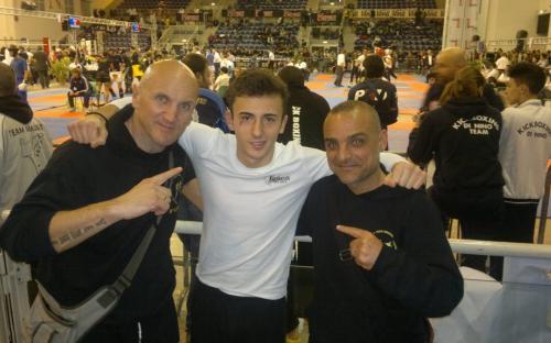 Saverio Andreani vice campione italiano -65 Kg
