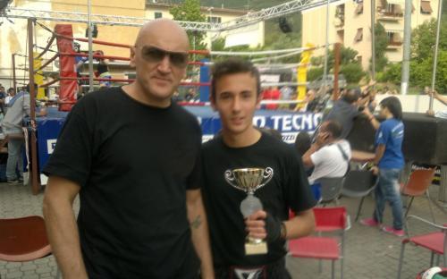 Saverio Andreani vince torneo -55 Kg e 2° class. torneo -60 Kg