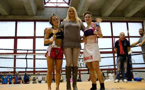 Vadalà VS Falchetti premiate dall'Ass. allo sport Saccone