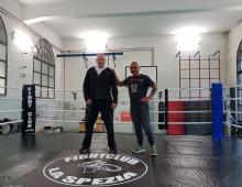 Il ring del Fight Club La Spezia
