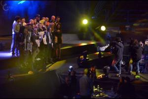 Premiazione promoter Cerasoli a Oktagon 2014